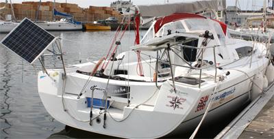 panneaux solaires bateau
