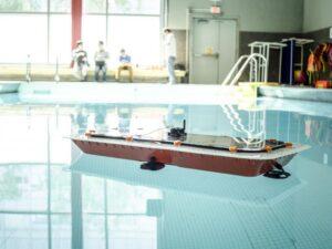 le concept du bateau autonome