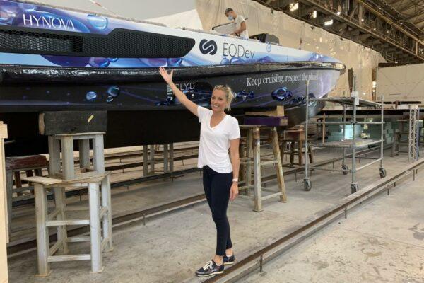 Hynova, le premier bateau hydrogène